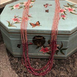 Ann Taylor - Crystal bead Necklace